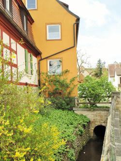 """Ferienwohnung """"Am Bach"""" in Burgbernheim"""