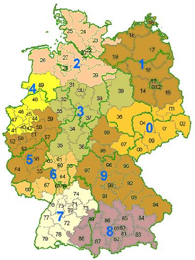 Wanderregionen in Deutschland